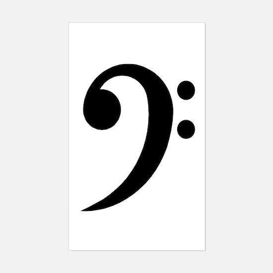 Bass Sticker (Rectangle)