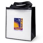Logo w Name Reusable Grocery Tote Bag