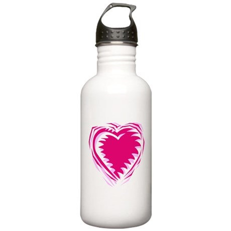 HEART {21} : pink Stainless Water Bottle 1.0L