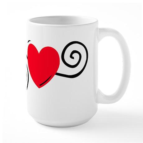 HEART {22} Large Mug