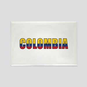 Colombia Rectangle Magnet (10 pack)
