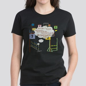 Snooker Math Women's Dark T-Shirt