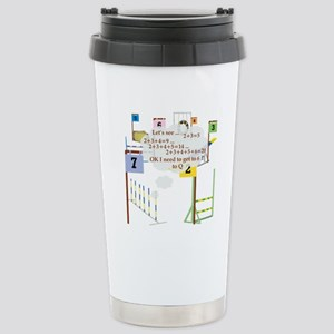 Snooker Math Stainless Steel Travel Mug