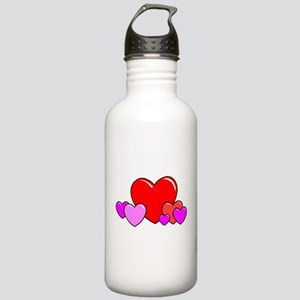 HEARTS {25} Stainless Water Bottle 1.0L