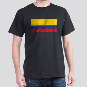 Ecuador Civil Ensign Dark T-Shirt