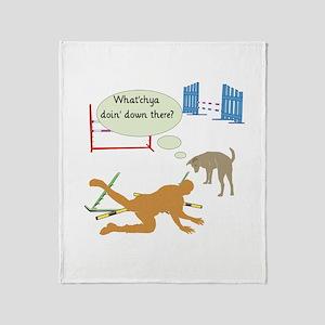 Whatchya Doin'? Throw Blanket