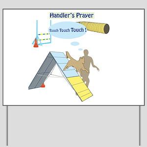 Handler's Prayer Yard Sign