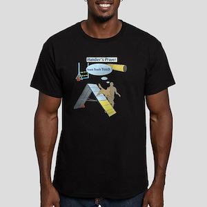 Handler's Prayer Men's Fitted T-Shirt (dark)