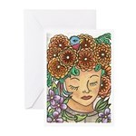 Too Much Tea Greeting Cards (Pk of 10)