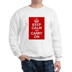 50th Birthday Keep Calm Sweatshirt