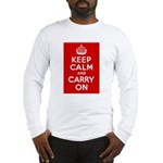 50th Birthday Keep Calm Long Sleeve T-Shirt