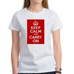 50th Birthday Keep Calm Women's T-Shirt