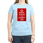 50th Birthday Keep Calm Women's Light T-Shirt