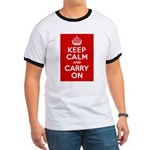 50th Birthday Keep Calm Ringer T