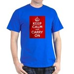 50th Birthday Keep Calm Dark T-Shirt