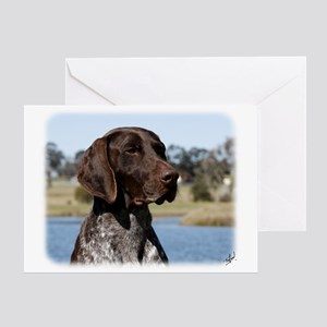 German Shorthaired Pointer 9Y832D 027 Greeting Car