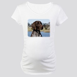 German Shorthaired Pointer 9Y832D-027 Maternity T-