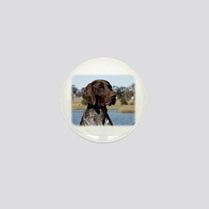 German Shorthaired Pointer 9Y832D-027 Mini Button