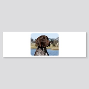 German Shorthaired Pointer 9Y832D-027 Sticker (Bum