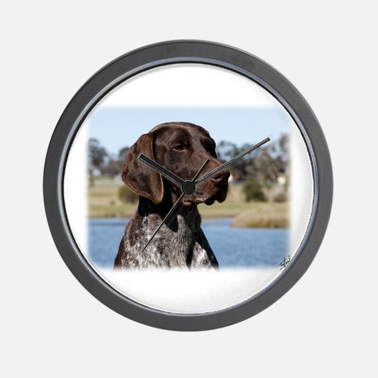 German Shorthaired Pointer 9Y832D-027 Wall Clock