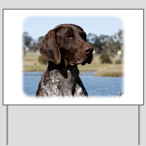 German Shorthaired Pointer 9Y832D-027 Yard Sign