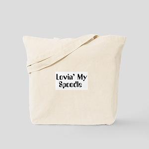 Lovin' My Spoodle Tote Bag