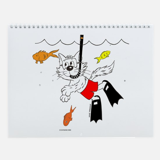 Catoons™ Snorkle Cat Wall Calendar