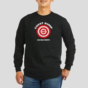 Chest Bump Long Sleeve Dark T-Shirt