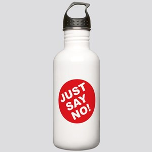 Just Say No! Stainless Water Bottle 1.0L