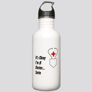 It's Okay I'm a Doctor Stainless Water Bottle 1.0L