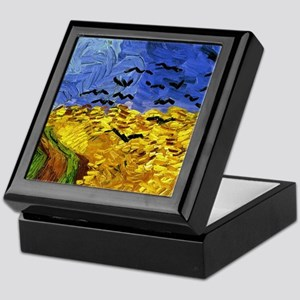 Van Gogh 'Crows in a Field' Keepsake Box