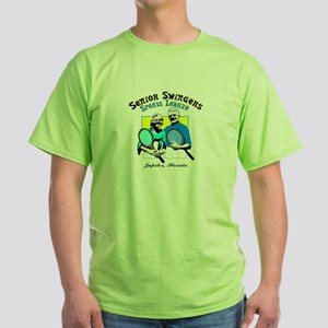 Senior Swingers Sports League Green T-Shirt