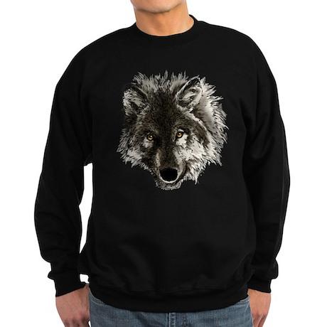 Wolf Portrait Sweatshirt (dark)