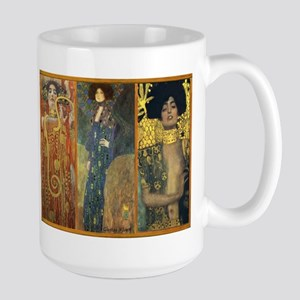 Gustav Klimt 'Dark Lady Coll Large Mug
