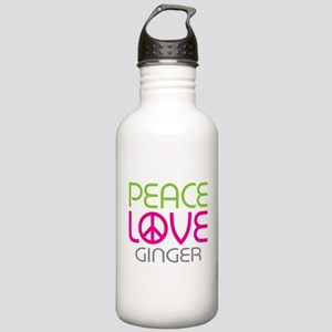 Peace Love Ginger Stainless Water Bottle 1.0L