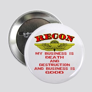 "RECON Death & Destruction 2.25"" Button"