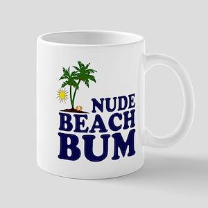 Nude Beach Bum Mug