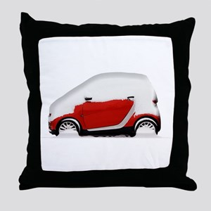 Smart Snow Throw Pillow