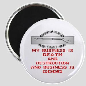 CIB Death And Destruction Magnet