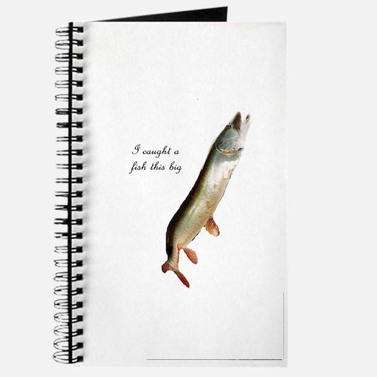 Cute Pike fishing Journal