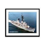 USS BARNEY Framed Panel Print