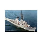 USS BARNEY Rectangle Magnet