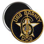 USS BARNEY Magnet