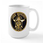 USS BARNEY Large Mug