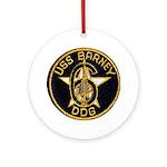 USS BARNEY Ornament (Round)