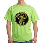 USS BARNEY Green T-Shirt