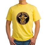 USS BARNEY Yellow T-Shirt