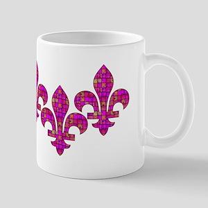 Pink Mosaic Fleur Mug