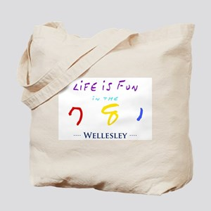 Wellesley Tote Bag