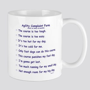Agilty Complaint Form Mug